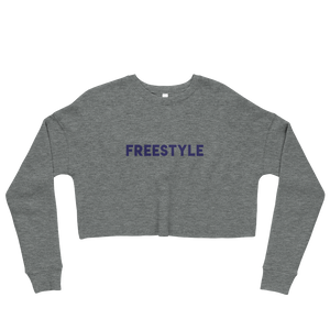Freestyle Crop Sweatshirt BLU