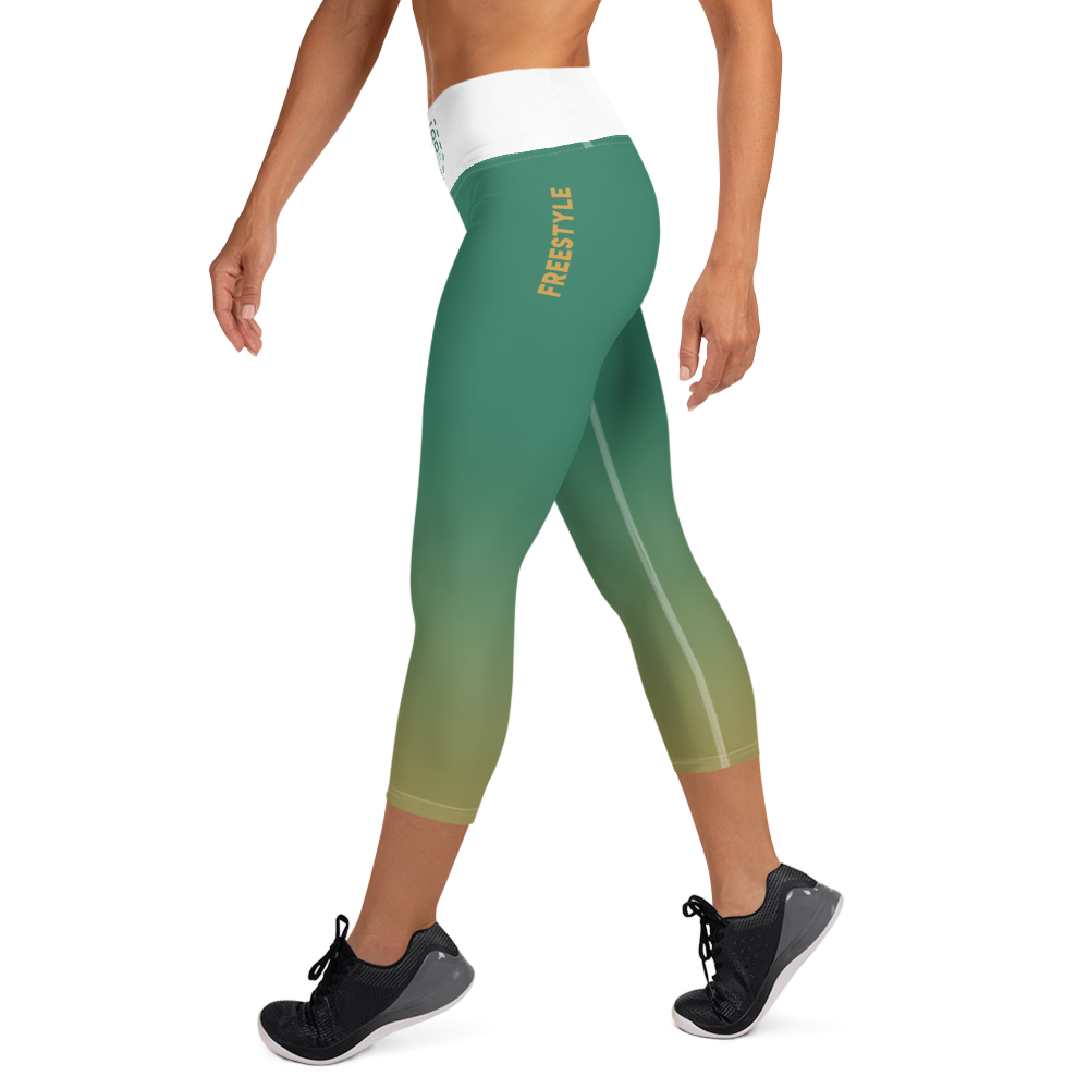 Freestyle EarthTone Yoga Capri Leggings