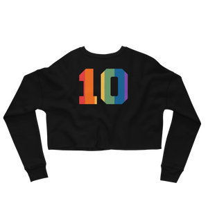 Be Limitless Pride Crop Sweatshirt No.10 by Squared Limited