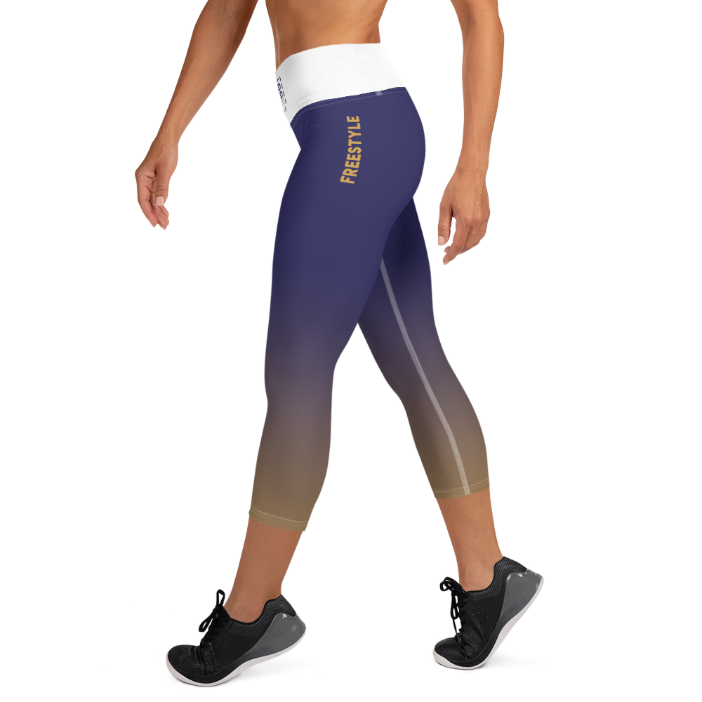 Freestyle Midnight Yoga Capri Leggings
