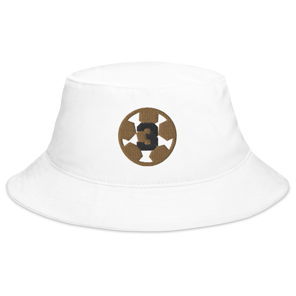 Sqd 3-Peat Bucket Hat W by Squared Limited