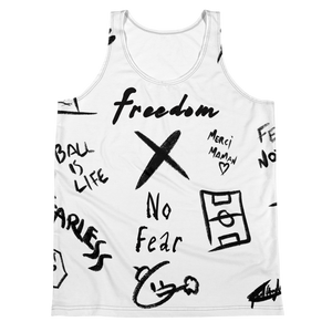 Freedom X No Fear Tank BL
