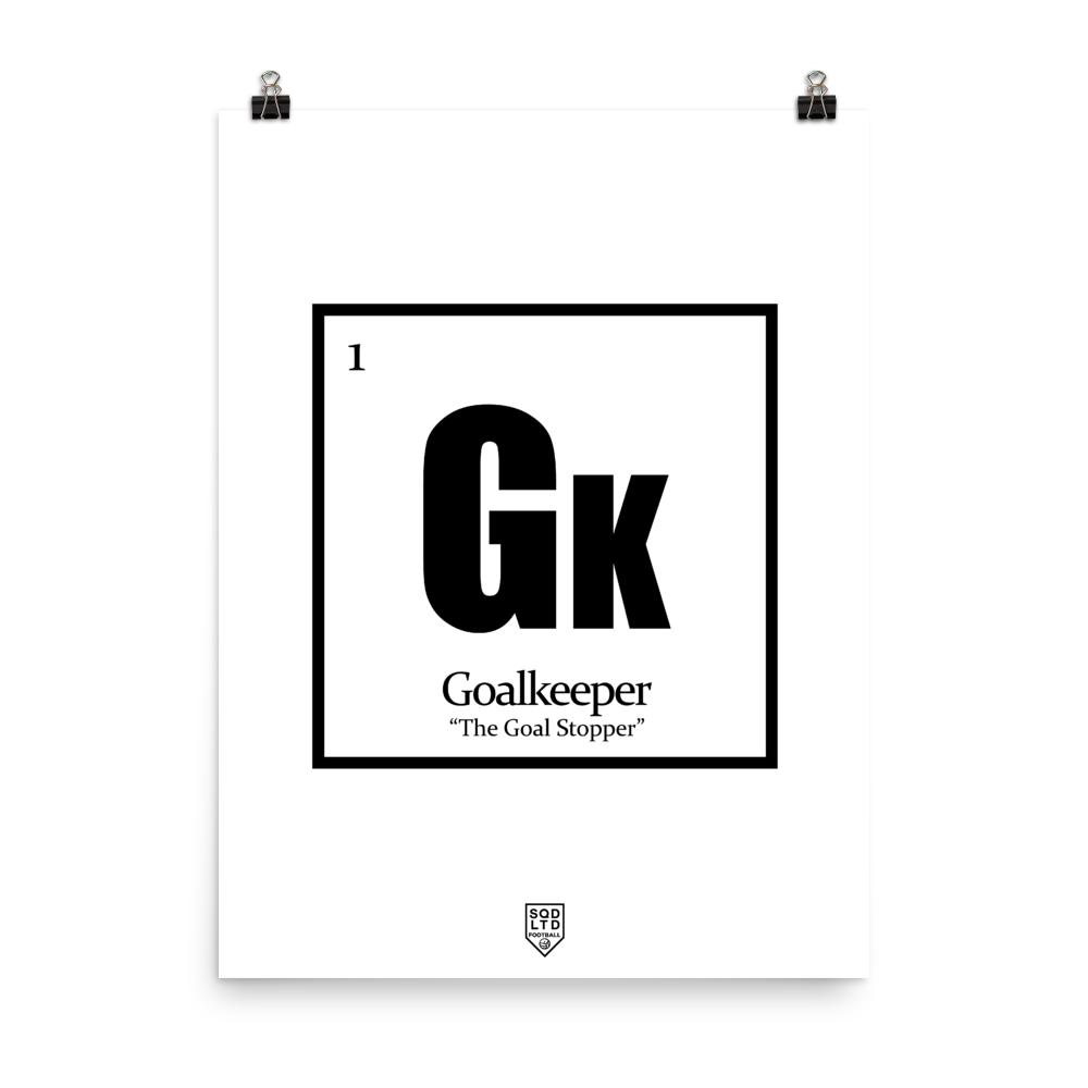 The Goal Stopper Poster BL by Squared Limited
