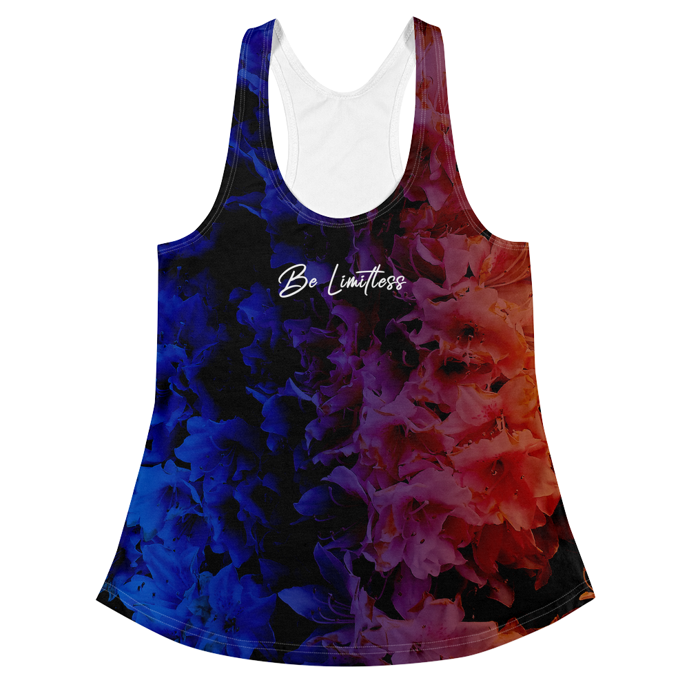 Be Limitless Pride No Shade Women's Racerback Tank