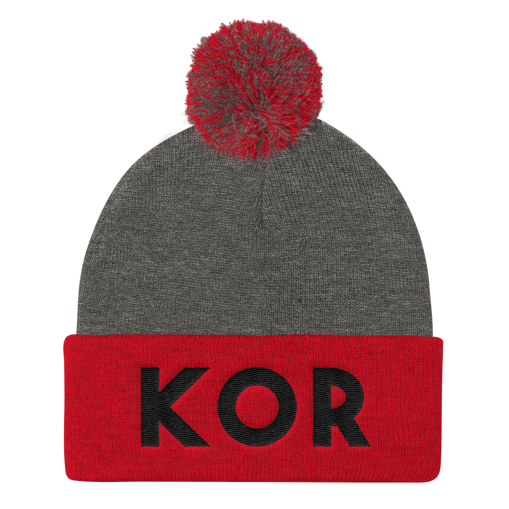 KOR Elite Pom Beanie BL by Squared Limited