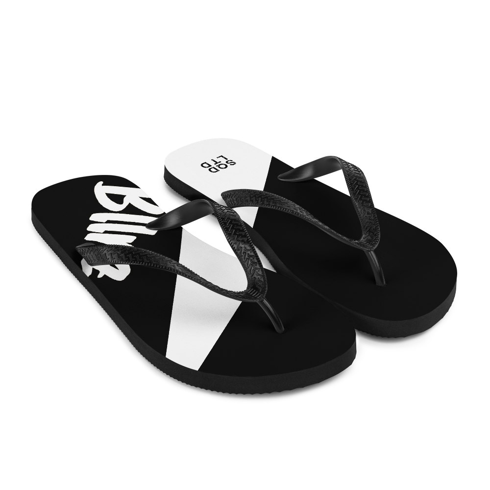 Bllrz Flip-Flops BnW by Squared Limited