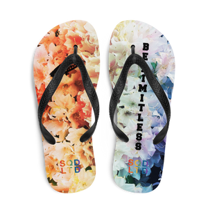 Be Limitless Pride Floral Flip-Flops by Squared Limited