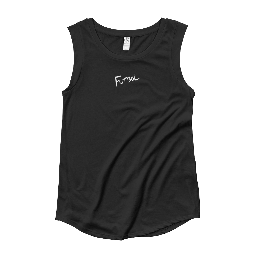 Freedom X No Fear Futbol Ladies' Cap Sleeve Tee WL