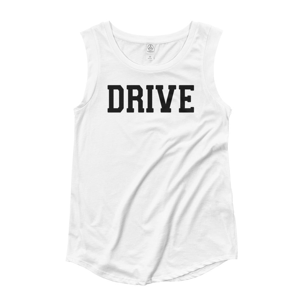 Drive Ladies' Cap Sleeve T-Shirt BL
