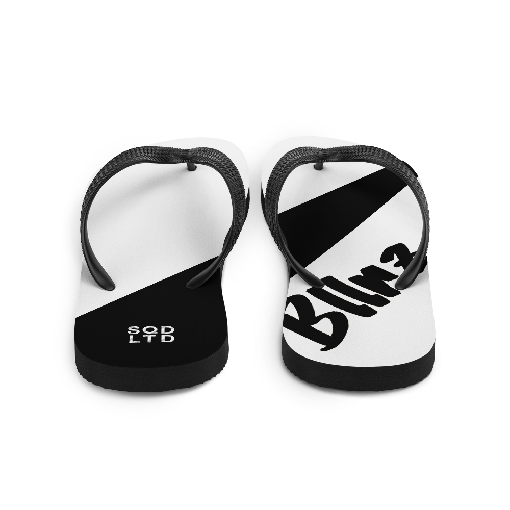 Bllrz Flip-Flops WnB by Squared Limited