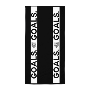 Goals Strip Towel W by Squared Limited