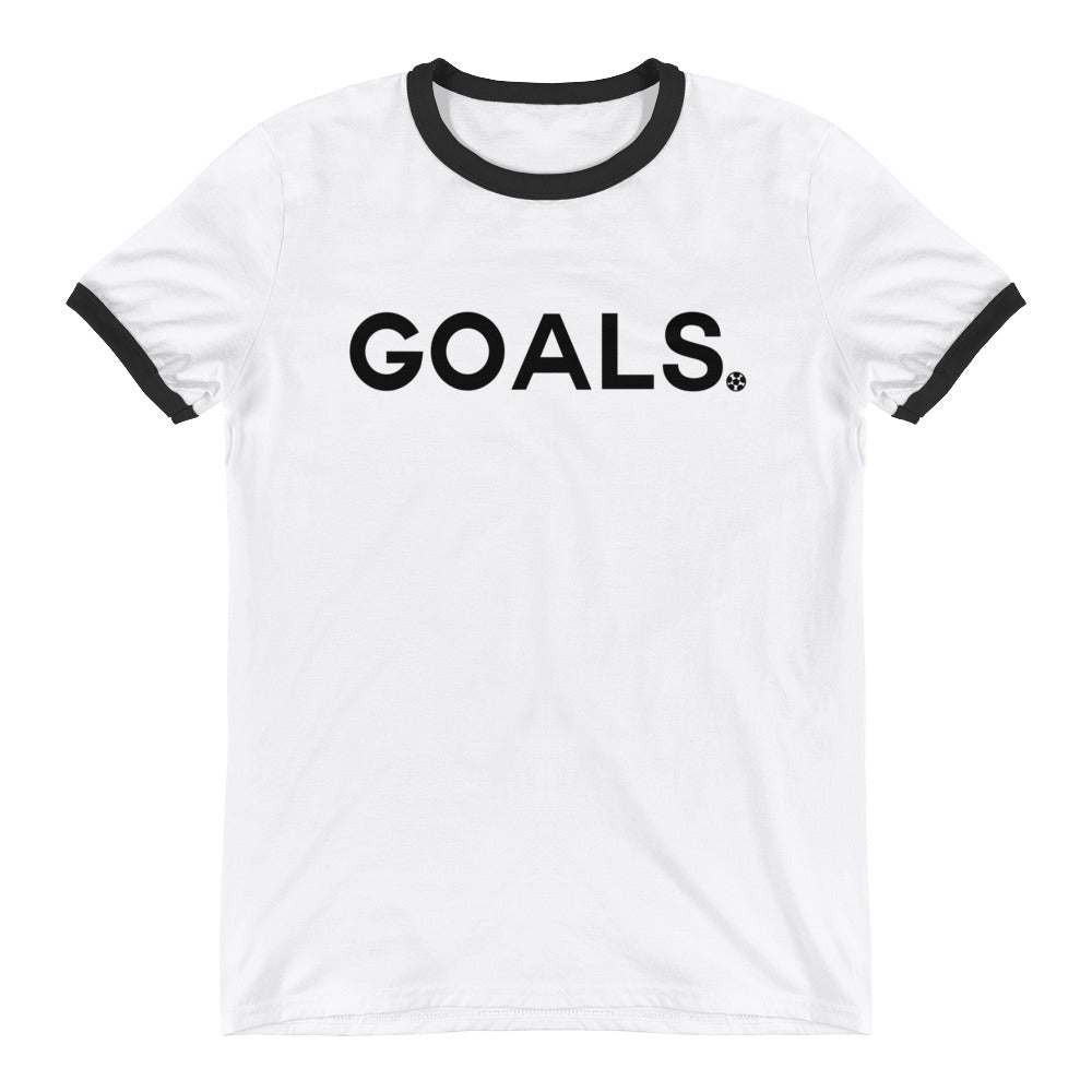 Goals Ringer Tee by Squared Limited