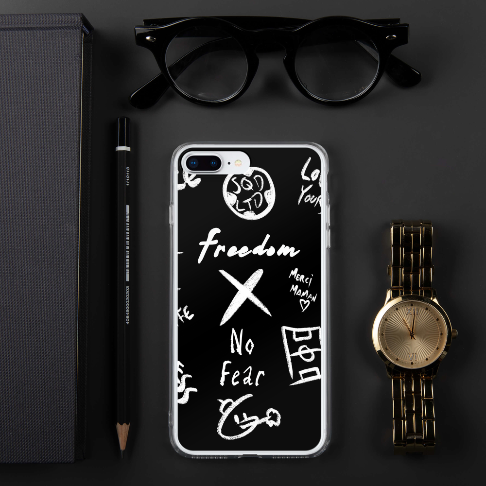 Freedom X No Fear iPhone Case WL