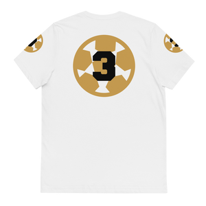 3-Peat Organic Cotton Tee BL by Squared Limited