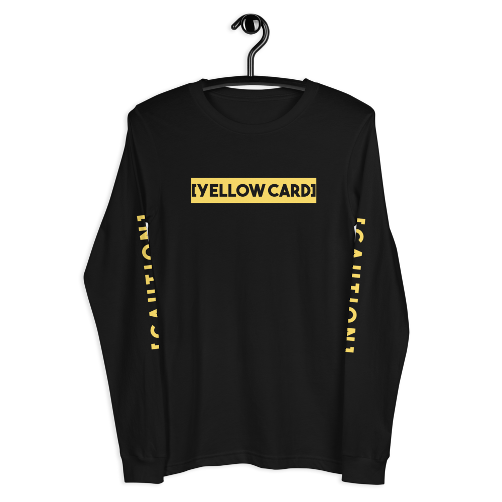 Sqdltd Yellow Card Long Sleeve