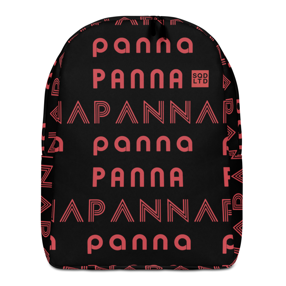PANNARed Minimalist Backpack HRTBRK