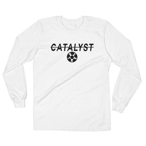 Catalyst Long Sleeve T-Shirt White Soccer Apparel