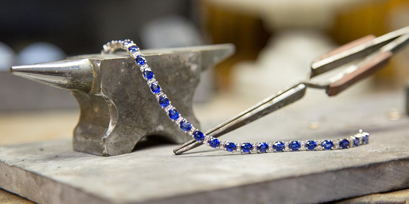 Bracelet repair at Ron George Jewelers in Annapolis.