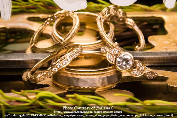 Ring designs for Alana S. on yelp.