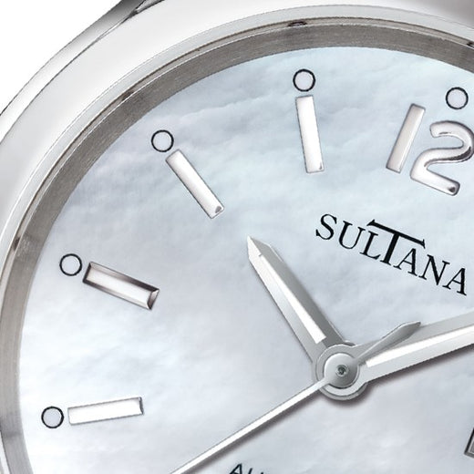 Sultana Ladies Automatic Swiss Watch Face