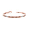 Diamond Tennis Vintage Gold Bracelet (RGJ70283) 14kt Rose Gold