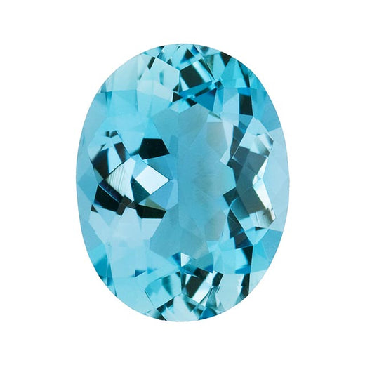 Loose Aquamarine Gemstone (RGJ-Aquamarine) Oval AAA