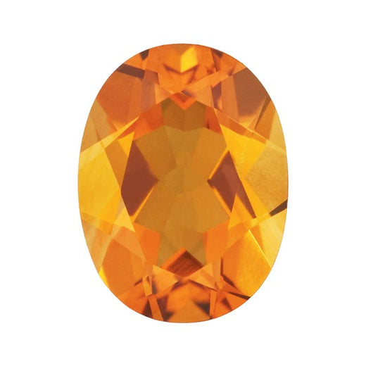Loose Citrine Gemstone (RGJ-Citrine) Oval AAA