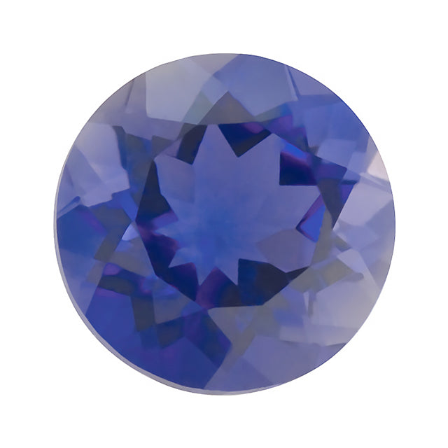 Loose Iolite Gemstone Round