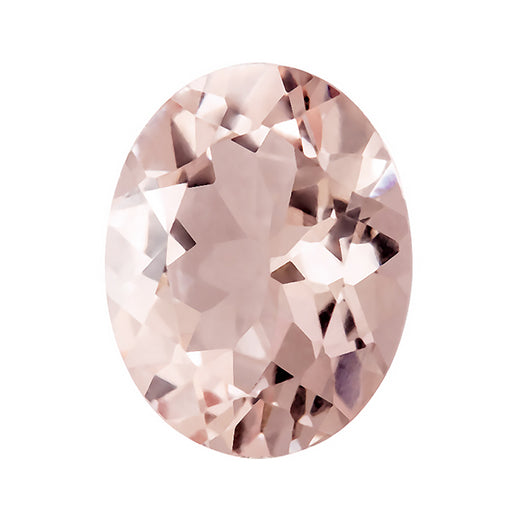 Loose Morganite Gemstone (RGJ-Morganite) Oval