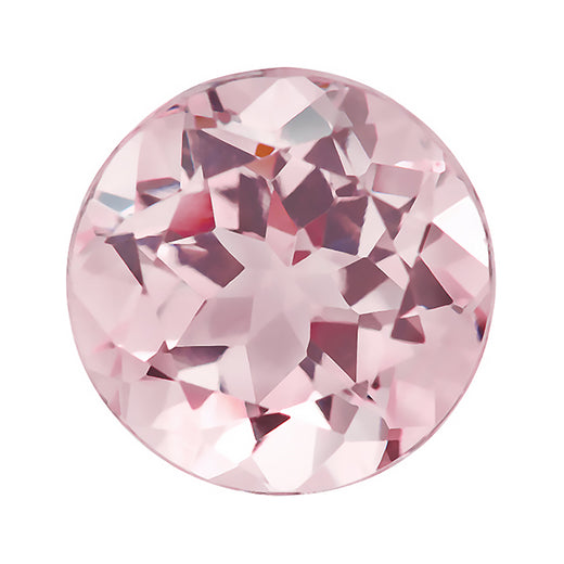 Loose Morganite Gemstone (RGJ-Morganite) Round