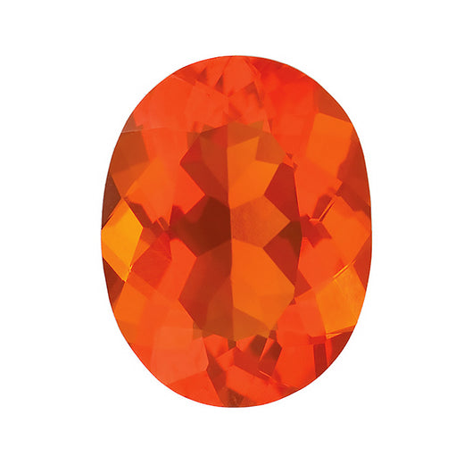 Loose Mexican Fire Opal Gemstone (RGJ-Mexican-Fire-Opal) Oval AA