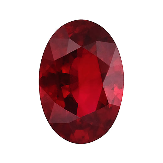 Loose Ruby Gemstone (RGJ-Ruby) Oval