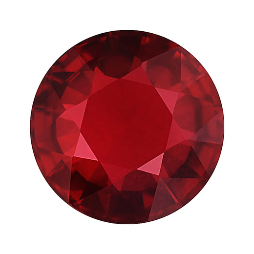 Loose Ruby Gemstone (RGJ-Ruby) Round