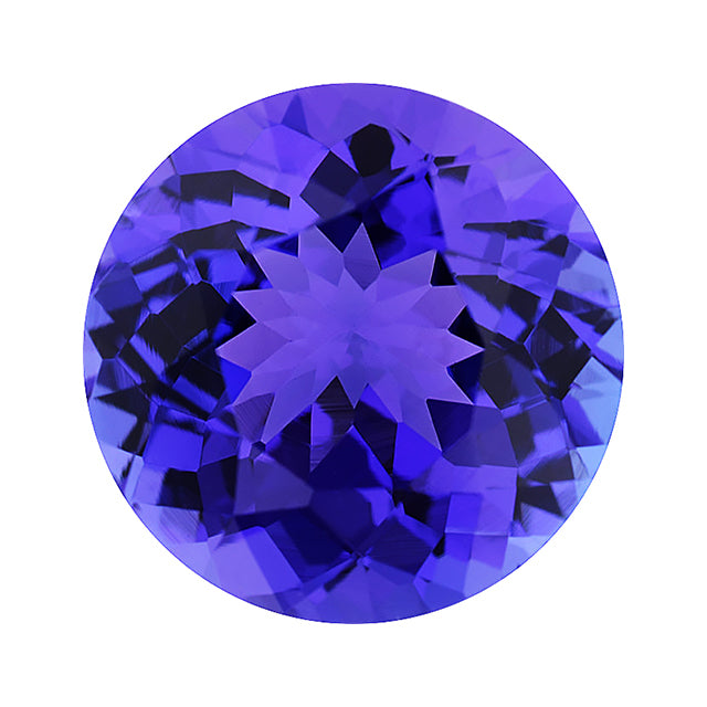gem tanzanite gallery close purple