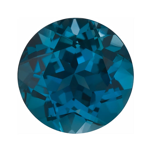 Loose London Blue Topaz Gemstone (RGJ-London-Blue-Topaz) Round