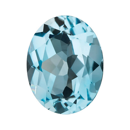 Loose Sky Blue Topaz Gemstone Oval