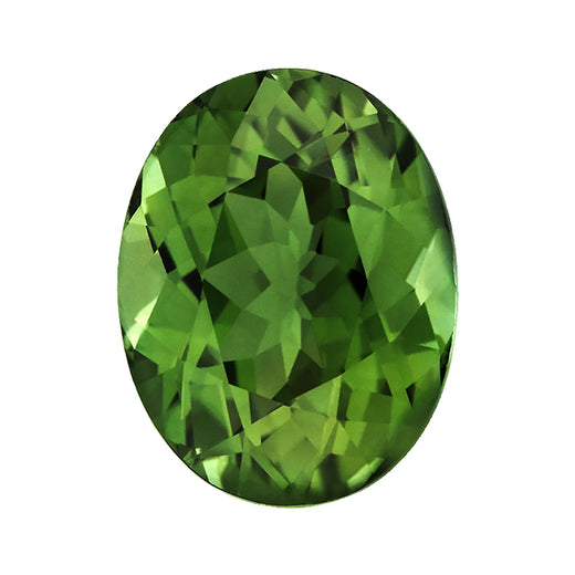 Loose Green Tourmaline Gemstone Oval