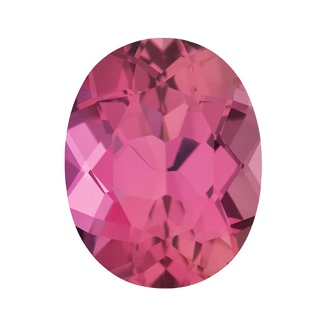 Loose Pink Tourmaline Gemstone Oval