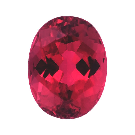 Loose Rubellite Tourmaline Gemstone Oval