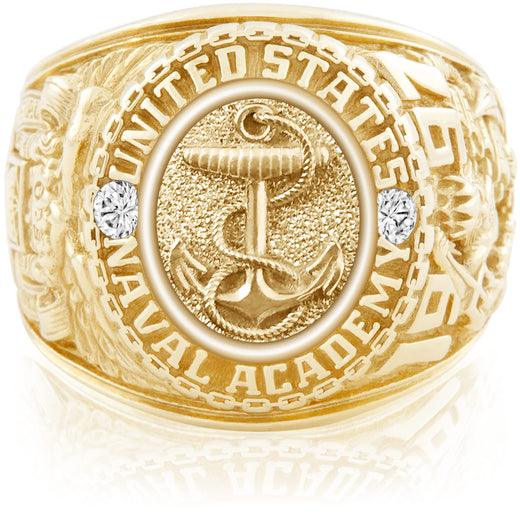 USNA Class Ring Anchors Aweigh SpecOps Package Yellow