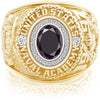 USNA Class Ring Black Diamond Pro M26™ Diamond.