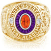 USNA Class Ring, Mexican Fire Opal, Eternal MX™ Amethyst.