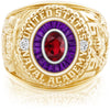 USNA Class Ring, Ruby, Eternal MX™ Amethyst.