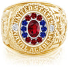 USNA Class Ring, Ruby, Pro M12™ Liberty Mod™.