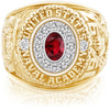 USNA Class Ring, Ruby, Pro M12™ Purity Mod™.