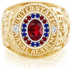 USNA Class Ring, Ruby, Pro M18™ Honor Mod™.
