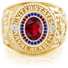 USNA Class Ring, Ruby, Pro M26™ Honor Mod™.