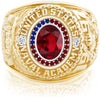 USNA Class Ring, Ruby, Pro M26™ Independence Mod™.
