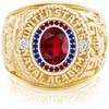 USNA Class Ring, Ruby, Pro M26™ Liberty Mod™.