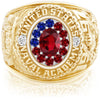 USNA Class Ring, Ruby, ProPlus M12™ Independence Mod™.